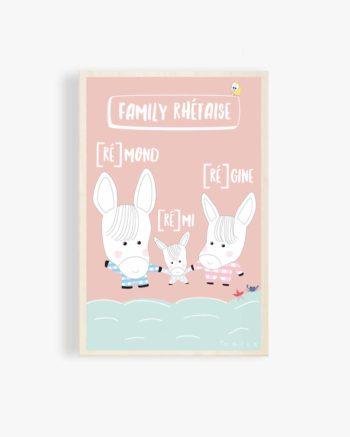 carte-postale-en-bois-carte-postale-bois-ane-culotte-âne-anes-culottes-ile-de-ré-baudet-du-poitou-vacances-deco-enfant-deco-design-deco-bois-odilederé-odile-odîle-odilederey