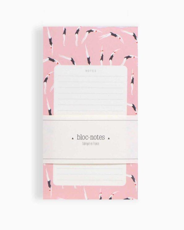 Bloc notes season paper nageuses