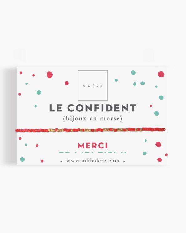 Bracelet morse Le Confident