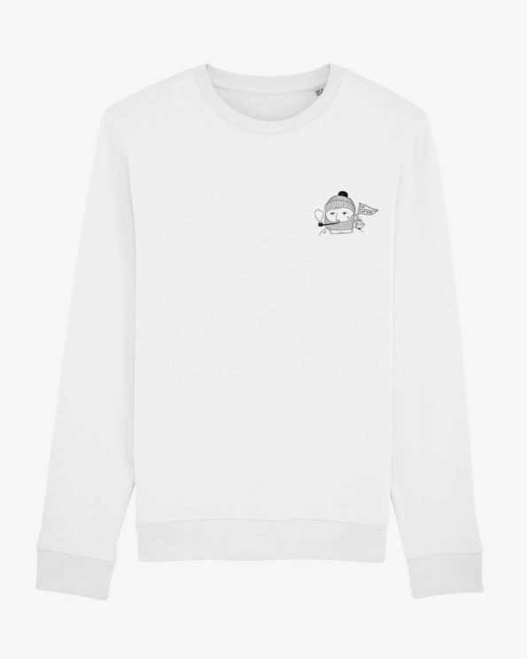 Say Captain sweatshirt en Coton bio