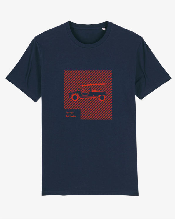Ferrari réthaise T-shirt en Coton bio