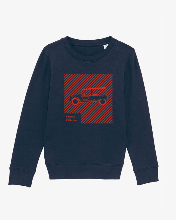 Ferrari réthaise sweat-shirt enfant en Coton bio