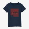 t-shirt enfant méhari ferrari rétaise ile de ré voiture de vacances bord de mer